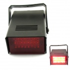 5W 650nm 24-LED Red Light Flash Party Disco Mini Strobe stage Light - Black