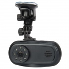 "S600 2.7"" TFT 5.0 MP Car DVR Camcorder w/ 4X Digital Zoom / 8-IR LED / Bluetooth Call - Black"