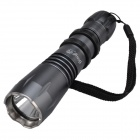 SingFire SF-110B CREE XM-L T6 550lm 5-Mode Flashlight w/ Battery Charger - Dark Grey (1 x 18650)