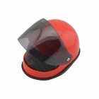 Creative Helmet Style Sound Active Induction Alarm Clock - Red + Black (3 x AAA)