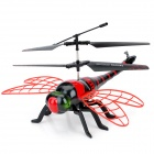 4.5-CH IR Remote Controlled Simulation Dragonfly Helicopter - Red