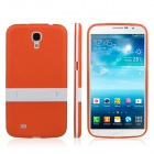 ENKAY Protective TPU Back Case w / Stand for Samsung Galaxy Mega 6.3 i9200 / i9208 - Orange