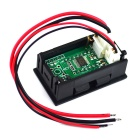 "0.36"" LED 5-Digital DC AMP Ampere / Electric Meter w/ Current Shunt - Black (0~3A)"