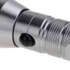 250lm 3-modus hvit lommelykt med Cree XP-E R2 - Silver (1 x 18650)