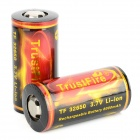 "TrustFire 32650 ""5500mAh"" 3.7V  Li-ion Battery for Flashlight - Black + Red + Golden"