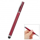 2-in-1 Ballpoint Pen + Capacitive Touch Screen Stylus Pen for Iphone / Ipad / Cell Phone - Dark Red