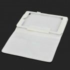 Lychee Grain Protective PU Leather Case for Acer A1-810 - White