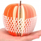 Unique Creative Apple Shaped Memo Pad - Large (About 150-Page)