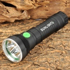 SUNLIGHT S168 3 x Cree XM-L U2 1500lm 5-Mode White Flashlight - Black (1 / 2 x 26650)