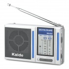 Kaide KK-222 Portable FM / AM Radio - Silver + Grey (2 x AAA)