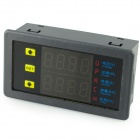 "VAM9020 0.36"" LED Dual Display 4-Digital Voltammeter - Black (0~20A / DC 0~90V)"