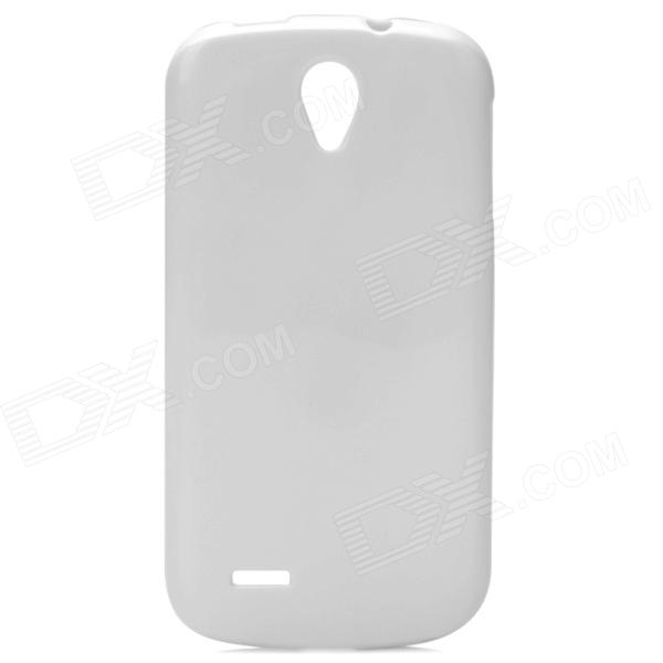 Protective Plastic Back Case for ZTE N909 - White