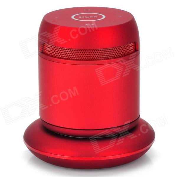 DOSS DS-1189 2-Channel Bluetooth v3.0 Speaker w/ Wireless Charging Stand - Red + Grey doss ds 1511 mini bluetooth speaker portable outdoor music box