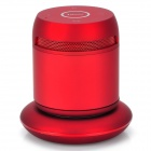 DOSS DS-1189 2-Kanal Bluetooth v3.0 Speaker w / Wireless Charging Stand - Red + Grau