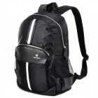 ShishaPangma Laptop Canvas Double-Shoulder Bag Backpack - Black (2.3L)