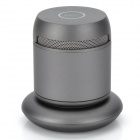 DOSS DS-1189 2-Channel Bluetooth v3.0 Speaker w/ Wireless Charging Stand - Black + Grey
