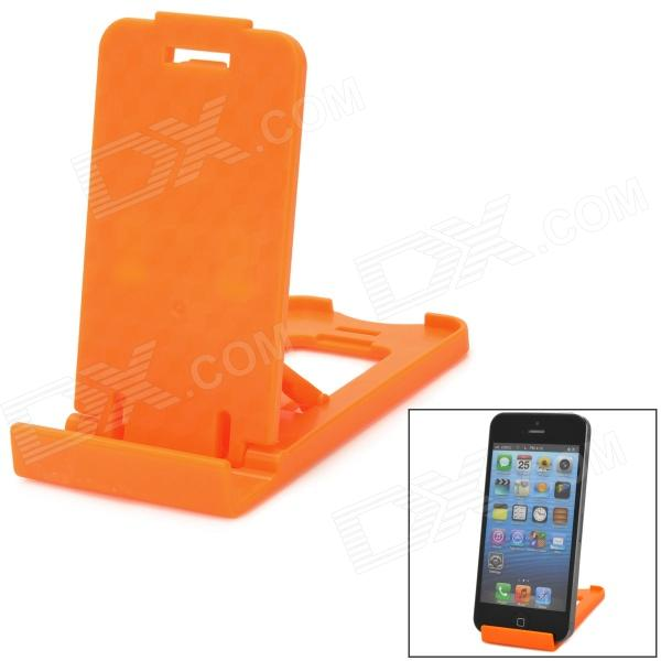 Mini Adjustable Mobile Phone Stand Holder - Orange asus zenfone 2 laser ze550kl 32gb black