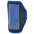 Sports Neoprene Armband Case for Sony Xperia ZR / M36H / C5502 / HTC ONE Mini / M4 - Blue + Black