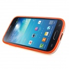 ENKAY Protective Soft TPU Back Case w/ Stand for Samsung Galaxy S4 Mini / i9190 - Orange