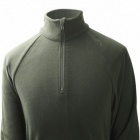 Stylish Men's Outdoor Polar Fleece Jacket - Army Green (Size-L)