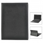 76-key Bluetooth Keyboard w/ PU Leather Case / Holder for Samsung P1000 / Galaxy Tab 10.1 - Black