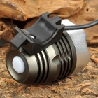 SL-8008 1000lm 3-Mode LED Bike Light Headlamp w/ CREE XM-L - Gray