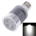 ZIYU ZY-A050-010 E27 10W 900lm 6500K 5-COB LED White Light Lamp Bulb - Silver + White (85~265V)