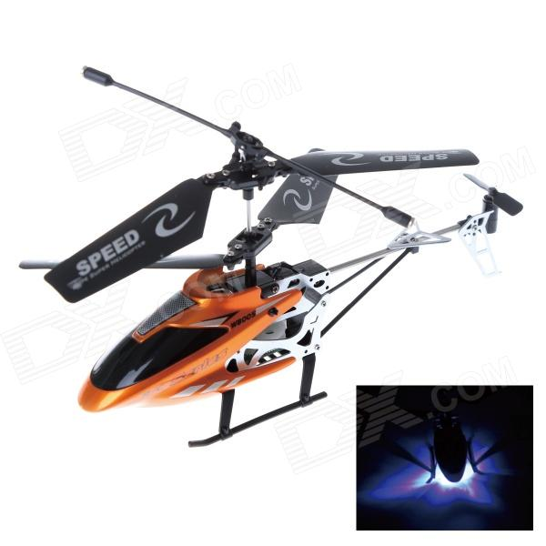 Rechargeable 2.5-CH IR Remote Control R/C Helicopter - Orange