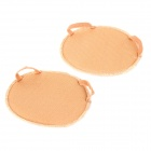 Thickened Soft Protective High Heels Anti-slip Forefoot Nude Cushion Pad - Light Brown (1 Pair)
