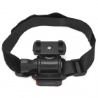 Durable Outdoor Sports DV Mount Bracket w/ Fixing Band - Black
