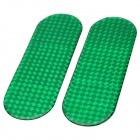 Car Safety Warning Mark Reflective Stickers - Green (2 PCS)