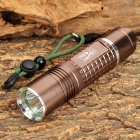 Radar 8602 Cree XM-L T6 900lm 5-Mode White Flashlight - Brown (1 x 18650 / 3 x AAA)