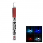 Music Notes Quit Smoking Rechargeable Electronic Cigarettes w/ Evod MT3 Atomizer - Black + Silver