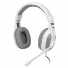 Cosonic CT-800 Wired Stereo Gaming Headphone - White + Light Grey