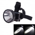 KangMing KM-163 Rechargeable High Power 1.5W 120lm LED White Light 2-Mode Headlamp - Black