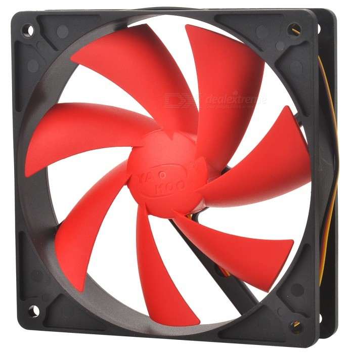Computer Chassis CPU Cooling  Fan - Black + Red personal computer graphics cards fan cooler replacements fit for pc graphics cards cooling fan 12v 0 1a graphic fan