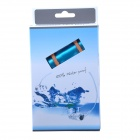 FS-1-Blue Waterproof USB Rechargeable Swimming MP3 Player w/ FM - Blue (8GB)