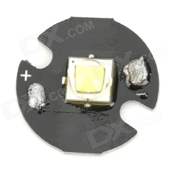 10W 1052lm 8300K Cold White Emitter On 16mm Star - Black