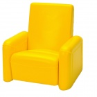 Siri's Couch SC-04-BY Cellphone PU Holder for Iphone 4 / 4S / 5 - Yellow