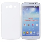 Fashionable Super Thin Protective Glaze PC Back Case for Samsung i9150 - White