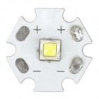 20mm 10W 1000lm 8300K Cool White Emitter Board Module for Flashlight - White