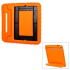 20009 Thick Shockproof EVA Back Case w/ 180 Degree Rotatable Handle / Holder for iPad 4 - Orange