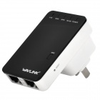 Wavlink WN523N2 300Mbps Dual-LAN Wireless-N Mini Router - Black + White