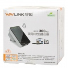 Wavlink WN523N2 Mini router Wirelesss-N dual-LAN 300Mbps -Preto + branco