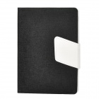 Elegant Oracle Lines Style Protective PU Leather Case w/ Auto Sleep for Ipad MINI - Black