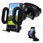 SD-1121G 360 Degree Rotating Suction Cup Car Mounted Adjustable Phone Holder - Black