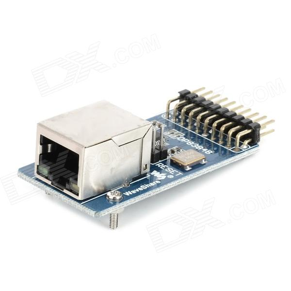 DP83848 Ethernet física Transceptor RJ45 Conector de Control Interface Board - Blue + Silver