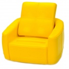 Siri's Couch SC-03-BY PU Cellphone Holder for Iphone 4 / 4S / 5 - Yellow