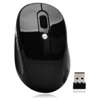 Drahtlose 1600dpi Gaming Optical Mouse for Computer - Schwarz