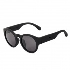 CARSHIRO 1130 Fashion UV400 Protection Sunglasses w/ Replacement Temples - Black